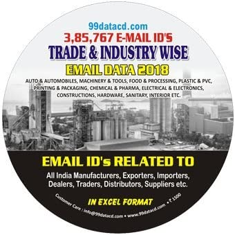 Buy Trade & Industry Wise E-mail Data 2018 Book Online at Low Prices