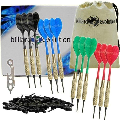 Twelve Brass Darts Black Wrench product image