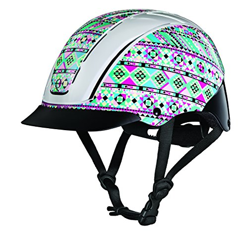 TROXEL Performance Headgear Troxel Spirit Kaleidoscope Horse Riding Helmet M by TROXEL Performance Headgear