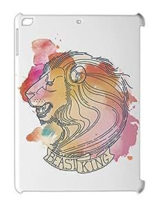 Beast King Lion iPad air plastic case