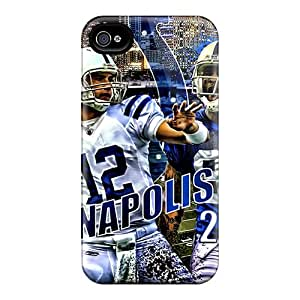 Mrq6997vXwg Indianapolis Colts Fashion Tpu 4/4s Case Cover For Iphone