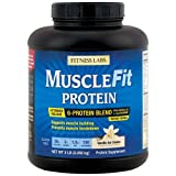 Fitness Labs MuscleFit Protein Blend (5 Pound, Vanilla Ice Cream)