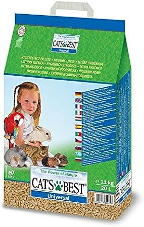 Amazon Com Cats Best 29761 Cat Litter Universal 20 Litres Pet Supplies