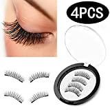 Amazon Price History for:Magnetic Eyelashes [No Glue], Premium Quality [Perfect Size For All Eyes] False Eyelashes Set for Natural Look - Best Fake Lashes Extensions One Two Cosmetics 3D Reusable[4PCS]