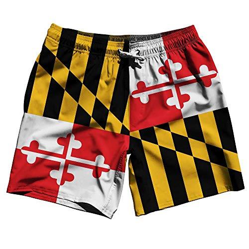 Maryland Flag Swim Shorts 7.5
