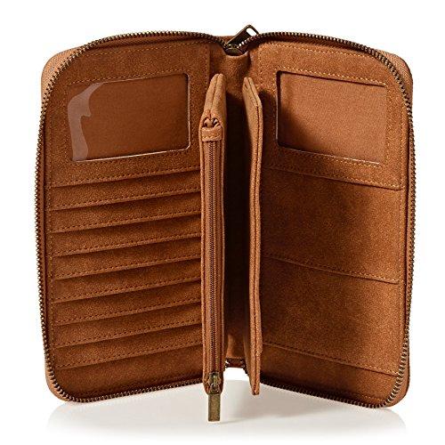 Wallet Roxy My Zip Won Mujer Heart Cremallera Cartera con x66rIqO