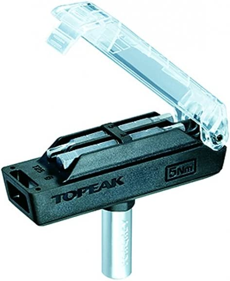 TOPEAK 6 One Size Multi-Colour 6NM Torque Wrench with 4 Tool Bits Cycling Tools Unisex Adult,