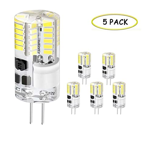 Jpodream® Bombillas LED G4, 3.5W 48 x 3014SMD Lámparas LED, 300LM,