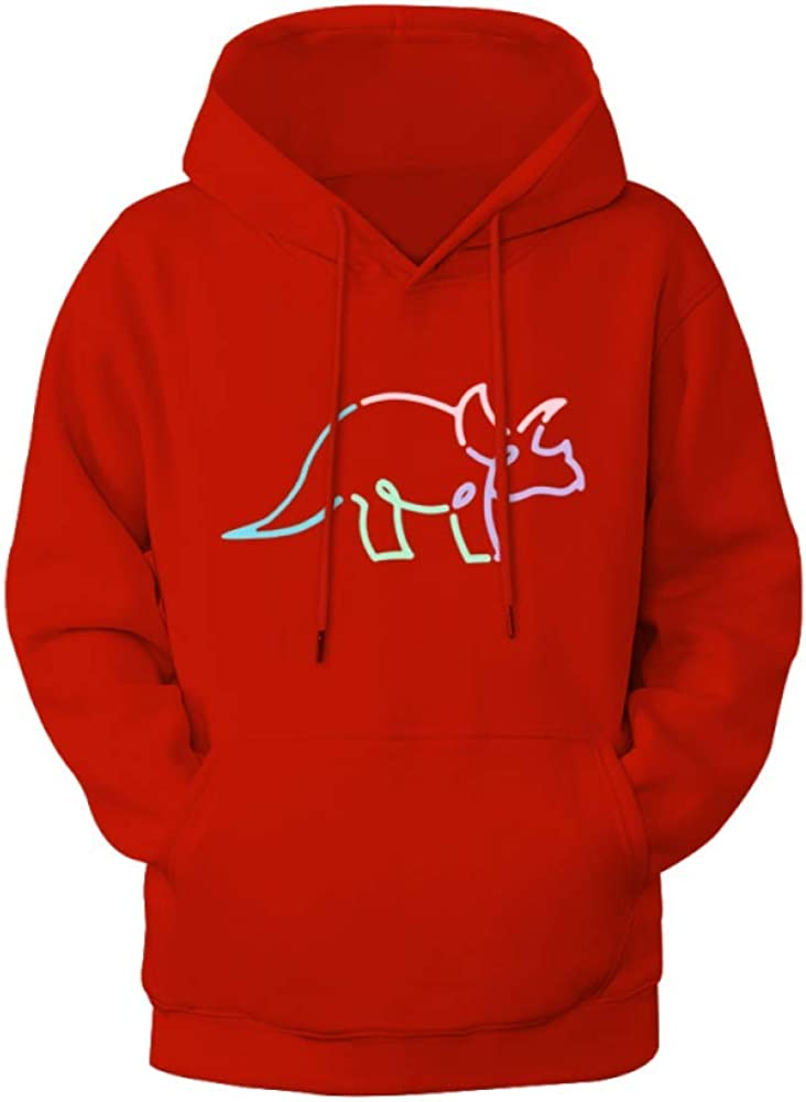 baixia Try Guys Tryceratops Mens Hoodie