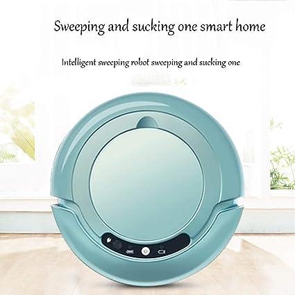 MISJIA Robot Aspirador, con cámara de Limpieza automática de casa robótica para Limpiar la Alfombra