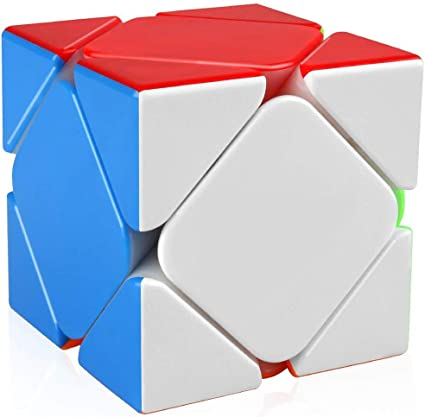 Kiditos YJ Skewb Cube Stickerless Magic Puzzle Cube