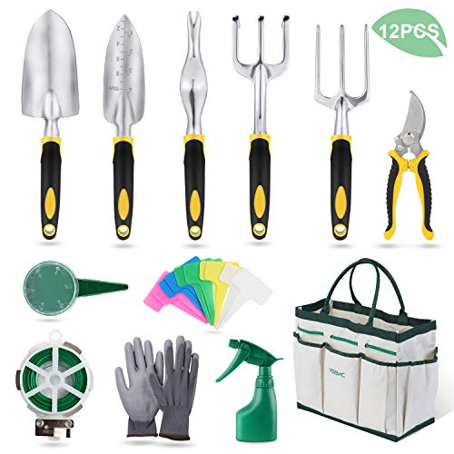 YISSVIC Garden Tools Set 12 Piec...