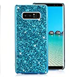 Samsung Galaxy S8 Plus Case [with Free Screen Protector],Funyee Luxury Shiny Sparkle Diamond Ultra-Thin Silicone Gel TPU Anti Scratch Durable Rubber Smart Case for Samsung Galaxy S8 Plus,Blue