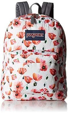 JanSport Womens Superbreak Multi Cali Poppy Backpack