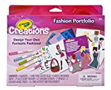 Arts and Crafts for Girls Fashion Toy – Crayola Design Fashion Toys Craft Kit Portfolio – Pack of 2