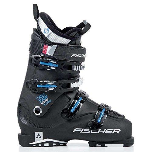 - Fischer Cruzar XTR 8 Thermoshape Ski Boots Black/Black/Black Mens Sz 12.5 (30.5)