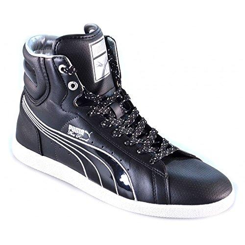 Puma - Puma Zapatos Deportivos Hombre Tejido Cordones negro 349137 - Negro, 35.5