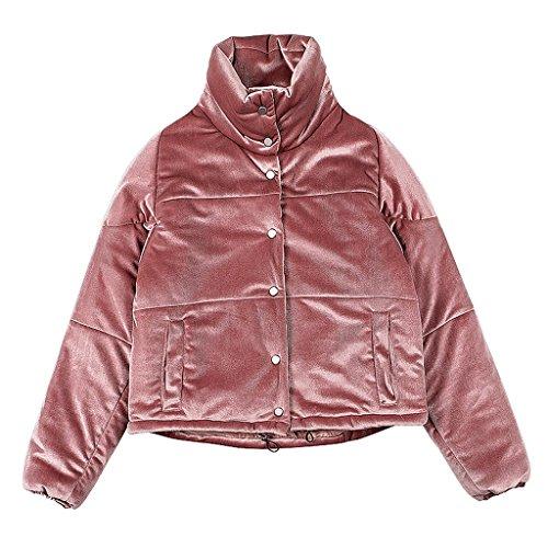 M Cotone colore Inverno Delle Shop Insacca Donne Rosa Rosa Del Bicchierino Che Rivestimento Dentellare Xiang Li Il Dimensioni Shi gwOqT86f