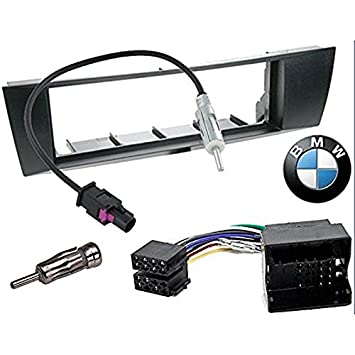 1 DIN Car stereo facia radio adapte for BMW 1 / BMW 3 / BMW X1 / BMW Z4 1  din