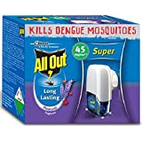 All Out Non-Adjustable Liquid Electric Machine with 60N Triple Set, Blue