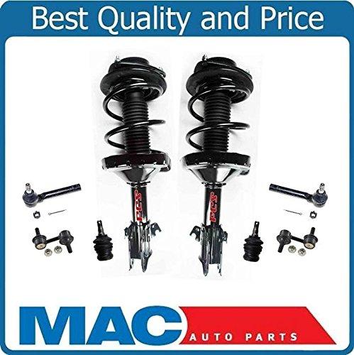 (Front Spring Strut Assembly Tie Rods & Ball Joints Fits Subaru Impreza AWD 08-11)