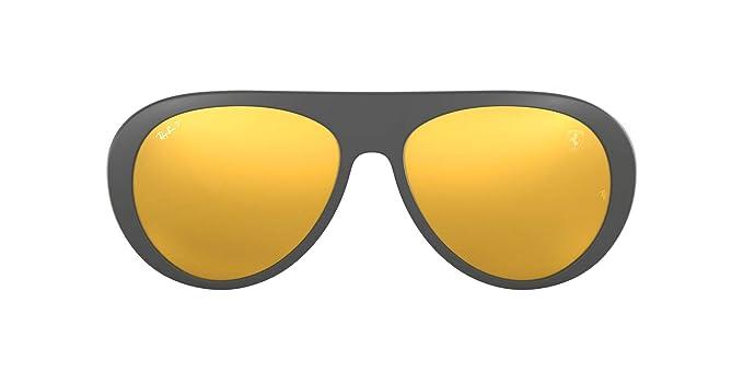 Ray-Ban 0RB4310M Gafas de sol, Matte Grey, 58 para Hombre: Amazon ...