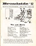 img - for Broadside Topical Song Magazine #62 Sept. 15, 1965 book / textbook / text book