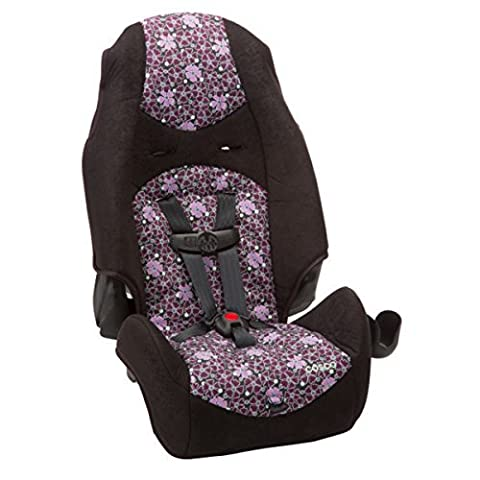 Best Booster Seat for Baby | Cosco Highback 2 in 1 in Sugar Plum - Plastic - Cosco Car Seat Base