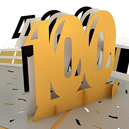 Lovepop 100th Celebration Pop Up Card, Birthday Cards, Pop Up Greeting Cards, Anniversary Cards]()