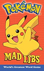 Gotta catch 'em all! This Mad Libs features 21 stories all about Ash, Pikachu, and all the other characters that made you want to become a Pokemon Master!