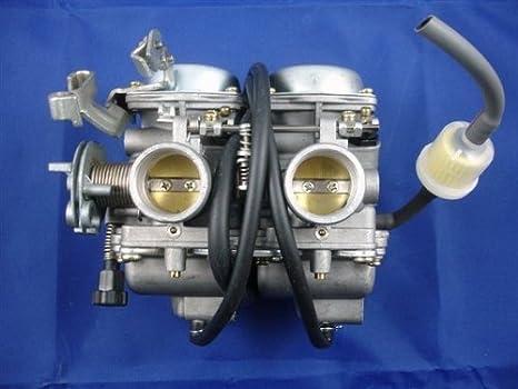 3la pd26js 26 mm 250 cc para motocicleta ATV Quad Go Kart carrito para carburador Carb CA45: Amazon.es: Coche y moto