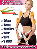 Scarmat Arm Workout Machine System Excerise with 3 System Resistance Training Bands Fitness...