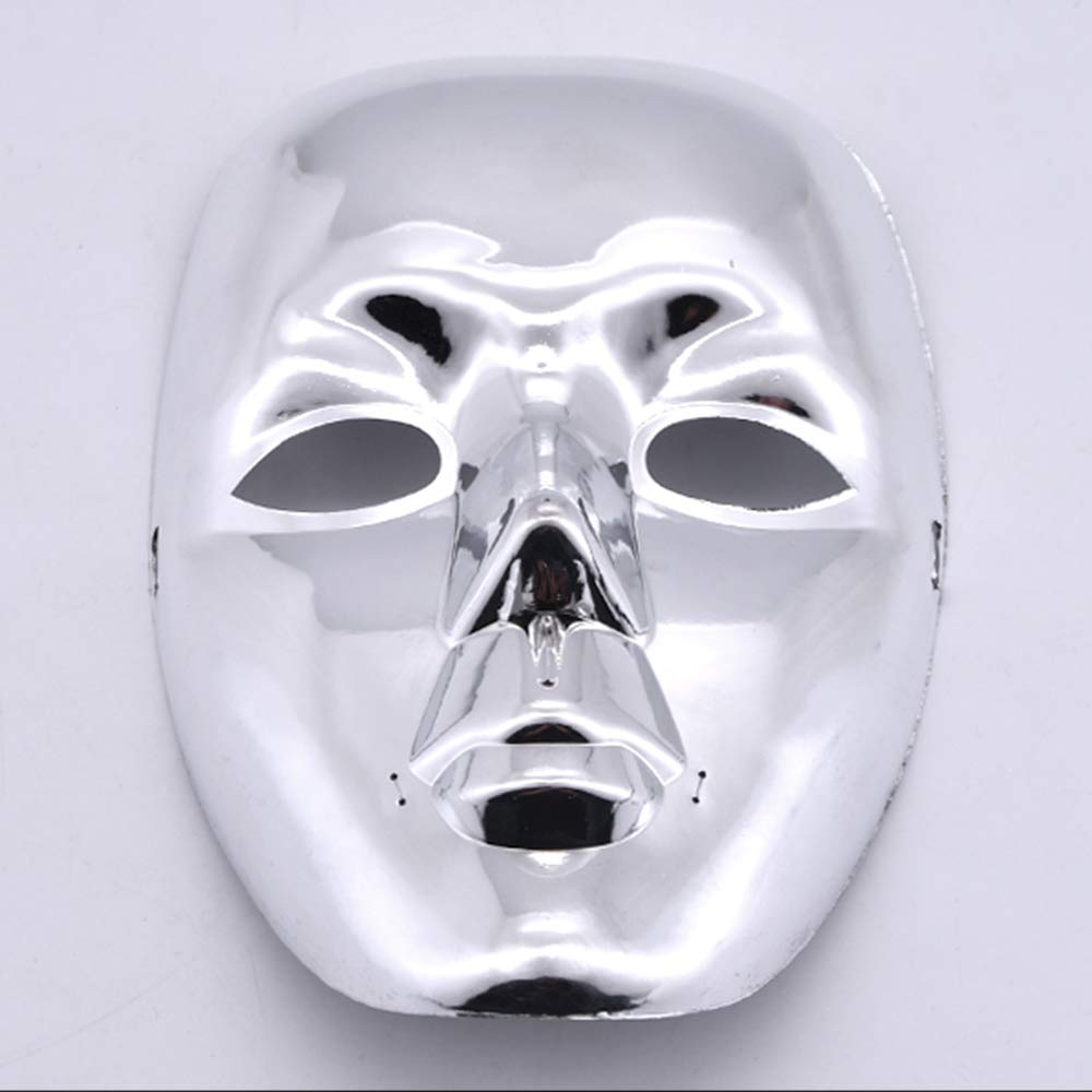 Doowops Ghost Mask Magic Tricks Mask Quick Change for Magician Stage Party Gimmick Illusion Funny Magic Set
