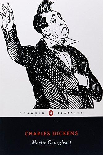 Book cover for Martin Chuzzlewit