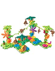 Learning Resources Gears! Gears! Gears! Movin' Monkeys Building Play Set, 103 Pieces