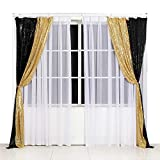 Poise3EHome Sequin Photography Backdrop Curtain for