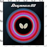 Butterfly Dignics 80 Table Tennis Rubber Table Tennis Rubber | 1.9 mm or 2.1 mm | Red or Black | 1 Inverted Table Tennis Rubber Sheet | Professional Table Tennis Rubber