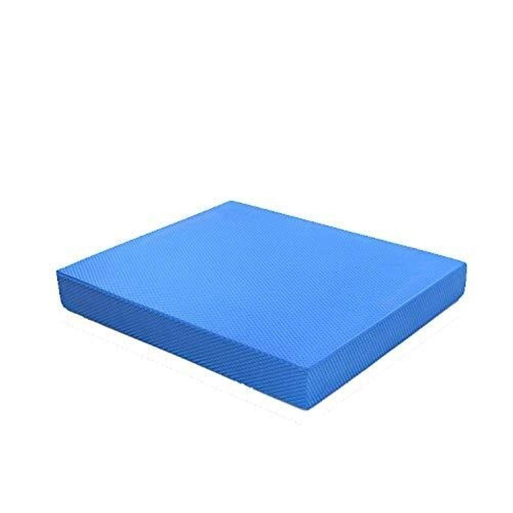 bleu Eercice Coussin d/équilibre extra /épais de 6 cm en TPE Coussin d/équilibre de r/éadaptation de coussinet d/équilibre for lentra/îneur dentra/înement posture dentra/înement physique Aptitude