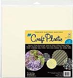 """Grafix Craft Plastic Sheets 12""""X12"""" 25/Pkg-Opaque"""