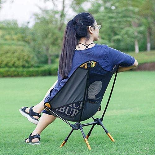 JALAL Tabouret siège randonnée, Chaise Voyage Camping en Aluminium Pliable Portable Tabouret randonnée pêche Tabouret Pliant