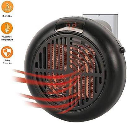 Mary Fast Shop Calentador eléctrico Mini Ventilador - Calentador ...