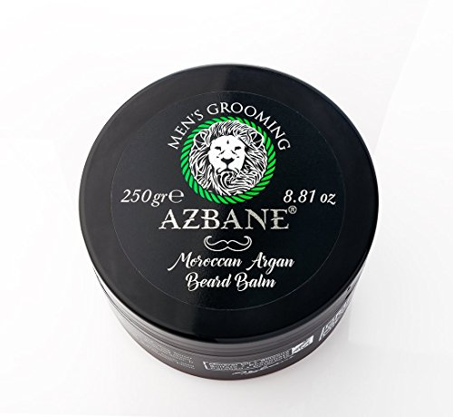 Azbane Moroccan Argan Beard Balm 250 Gr - 8.81 Oz