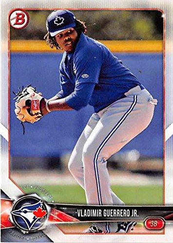 Vladimir Guerrero Jr Baseball Card Toronto Blue Jays 2018
