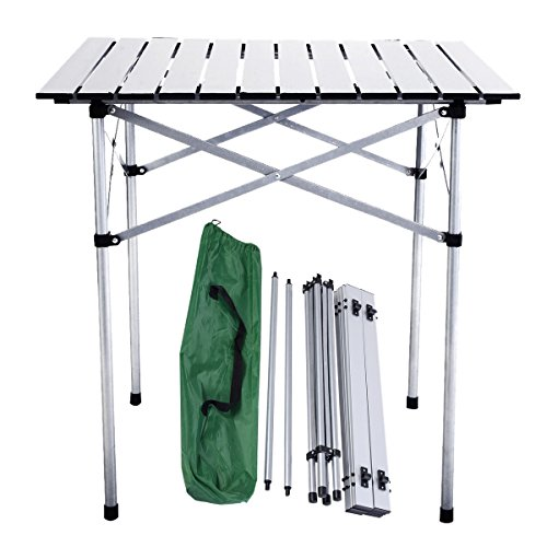 Camping Picnic Folding Table Square Lightweight Portable