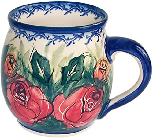 Polish Pottery Bubble Mug Coffee Tea 16 oz Unikat Eva's Collection