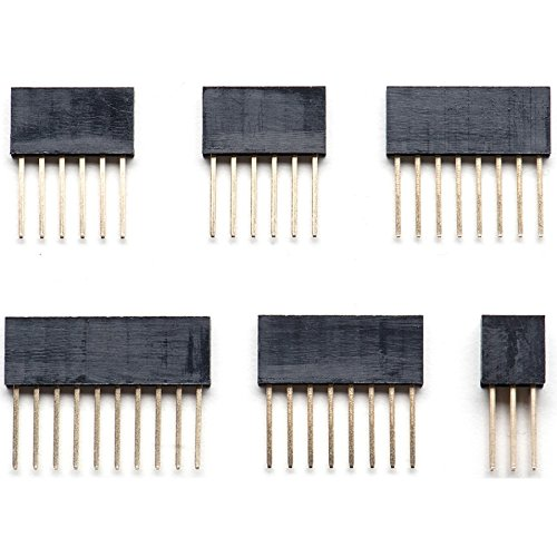 Shield Stacking Header Set for Arduino UNO R3(Pack of 5 Sets) - $8.99