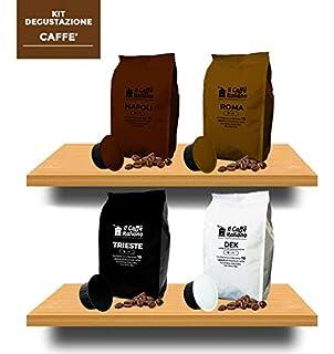 40 Cápsulas de Café compatibles Caffitaly - kit degustación de 40 cápsulas café compatibles con máquinas