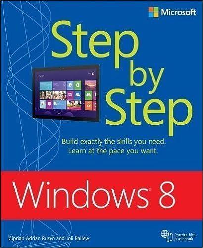 Windows 8 Step By Step (Step by Step (Microsoft)) by Rusen,