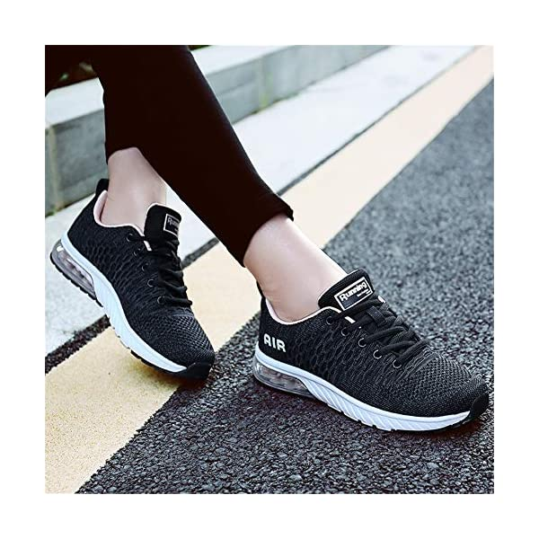 Homme Femme Chaussures de Sport Running Baskets Outdoor Sneakers Air Chaussures d' Course Fitness Gym,Respirante,Mode 36…