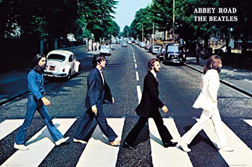 Trends International Wall Poster The The Beatles Abbey Road, Unframed Version